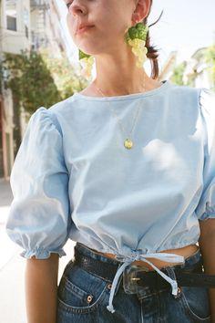 Sadie Top - Cloud Corduroy - Lisa Says Gah Fall Fashion Outfits, Fast Fashion, Autumn Fashion, Summer Outfits, Casual Outfits, Fashion Dresses, Curvy Fashion, Petite Fashion, Jean Outfits