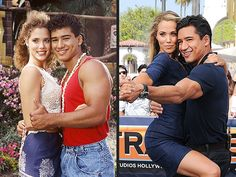 Celebs Discover Saved by the Bell& Elizabeth Berkley and Mario Lopez Then and Now! These two found the fountain of youth! Celebrities Then And Now Famous Celebrities Celebs Jessie Spano Zack Morris Mario Elizabeth Berkley Saved By The Bell Tv Couples Elizabeth Berkley, Celebrities Then And Now, Famous Celebrities, Movies Showing, Movies And Tv Shows, Jessie Spano, Zack Morris, Tv Show Couples, Saved By The Bell