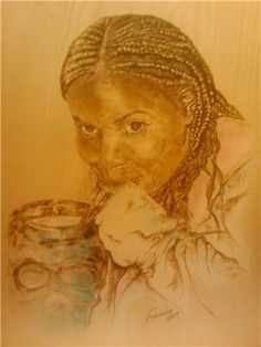 Woodburning Portraits