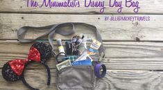 How to Pack your Disney Day Bag Like a Minimalist
