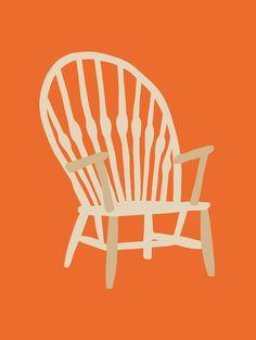 IS18-14 Illustration, Lisa, Furniture, Home Decor, Frames, Illustrations, Interior Design, Home Interior Design, Arredamento