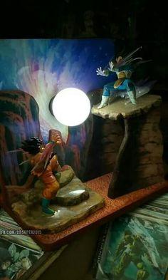 Decoracion Lampara goku Dragon Z, Dragon Ball Z, Nerd Decor, Geek Games, Son Goku, Kids Decor, Character Art, Action Figures, Projects To Try