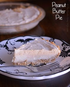 {No Bake} Peanut Butter Pie