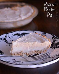 {No Bake} Peanut Butter Pie