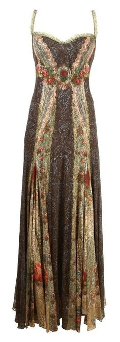 ☮ American Hippie Bohemian Boho Style ~ Gorgeous Gypsy Maxi Dress