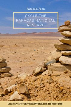 Every year thousands of visitors flocked Paracas to visit the Ballestas Islands. Today, we cycled the Paracas National Park. Peru, Islands, National Parks, Explore, Mini, People, Crossbow, Turkey, Exploring