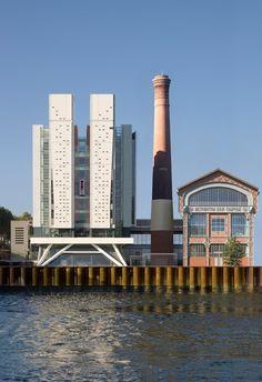Friche urbaine - exemple de reconversion réussie- © Nicolas Borel/FREDERIC BOREL & ASSOCIES ARCHITECTES