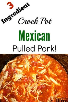 ... Mexican pulled pork on your dinner table with almost no effort at all