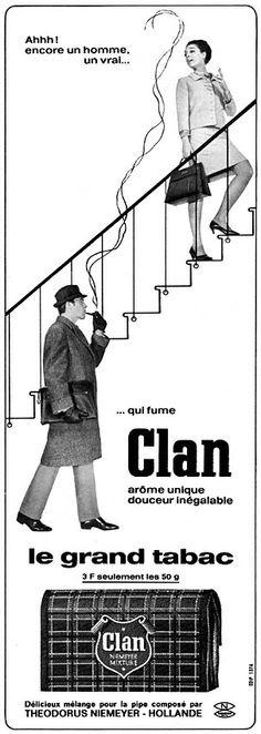 Publicité Clan 1967