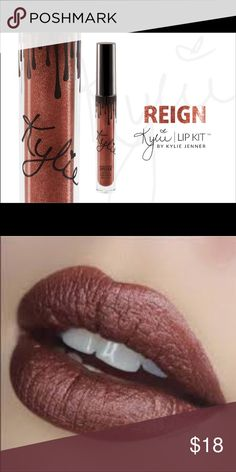 Kylie Jenner Lip Kit Lip duo Reign metal matte lip color. ( it's a very good dupe!) Makeup Lipstick