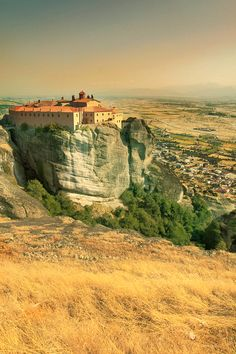 Meteora Monastery, greece #World heritage