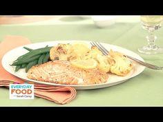 Roasted Salmon With Spicy Cauliflower - Everyday Food with Sarah Carey