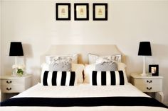 31 Best Black & Cream Bedroom images | Cream bedrooms ...