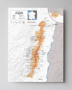 Alsace Wine Region Map | France | Wine Posters - Wine Folly