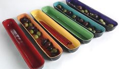 Colorful Ceramic Olive Tray Etsy $30.00