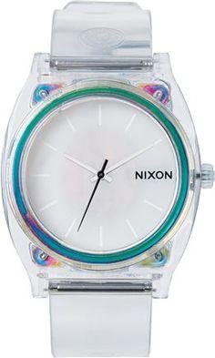Clear Nixon time teller.