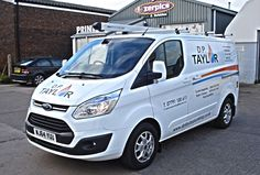 Need some vehicle graphics? check out DP TAYLOR'S van we produced recently #vehiclegraphics #printing #lazerpics #vinyl