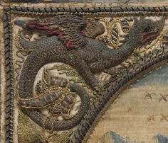 17th century Culture: Flemish Medium: Silk, metal thread and pearls on silk  The Metropolitan Museum of Art