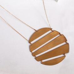 Gorgeous Geometric Metal Jewelry