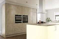 The warmth of the Truffle Brown Denver Oak finish paired with the Alabaster will ensure your kitchen is always the heart of the home. Replacement Kitchen Cabinet Doors, Kitchen Cabinet Styles, Kitchen Cabinets, Kitchens And Bedrooms, Home Kitchens, Kitchen Planner, Stylish Kitchen, Kitchen Collection, Kitchen Remodel