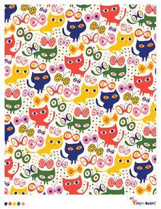 Kitten Stitch - pattern by helen dardik