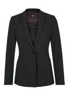 Taillierter Blazer mit Strukturmuster kaufen   s.Oliver Shop Blazer, Neue Trends, Jackets, Medium, Products, Fashion, Shoulder Pads, Shopping, Female Fashion