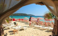 Pampelonne beach, St Tropez