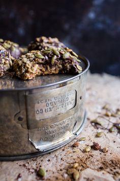 Harvest Oatmeal Chocolate Chunk Cookies with Salted Toasted Pepitas | halfbakedharvest.com @hbharvest