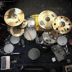"12.8k Likes, 33 Comments - SABIAN Cymbals (@sabiancymbals_official) on Instagram: ""Droolworthy? We think so! ... #Repost @sabian_uk ・・・ @mrjamielblake sweet, sweet setup! #sabian…"""
