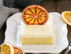 Orange Cake | An exquisite orange cake with cream cheese frosting