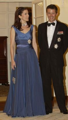 princesse Mary et prince Frederik...What a great smile on Prince Frederik