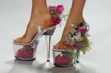 Flowers and shoes all in one!