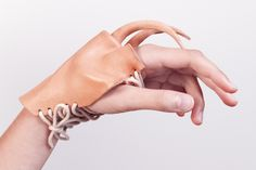 . Human Human, Human Body, Ugly To Pretty, Human Condition, Wearable Art, Jewelry Art, Weird, Gloves, Construction