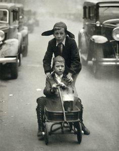 Martin Munkacsi - Madrid, 1930