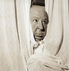 Film director Alfred Hitchcock at Claridges Hotel, London. He is there months in advance of his latest and 50th picture, 'The Torn Curtain' - 25 April 1966