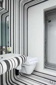 Contemporary Bathroom by Pamplemousse Design and Oliver Cope Architect in New York, New York