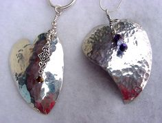 jewelry made from silverware | Silver Spoon Heart Pendants - Media - Jewelry Making Daily