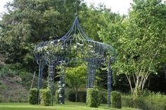 Metal Vert - Fabrication sur mesure de structure en fer - Pergola -