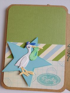 handmade paper craft card by Shay Finlay