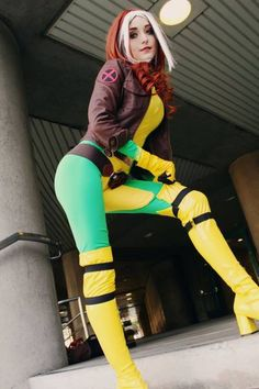 Sexy Rogue #Cosplay #sexy #cosplay http://costumeomatic.com/product-category/sexy-costume/