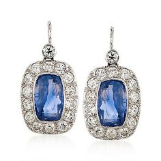 These sapphires have stunning shades of blue and lavender.