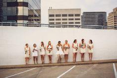 bridesmaids in cream   Photography by geodun.com