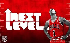 D Rose next level…   From Da Bench
