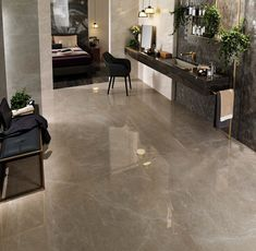 3e71d8525c3b95 Warm tones of a muted rosebud shade, ignite this soft marble-effect  porcelain tile