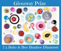 Enter to win: 1 x Bobo