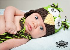Meet Lucca! - must find a similar hat for baby K's first photo shoot!