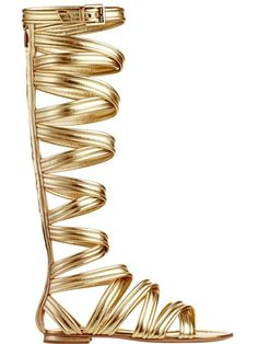 High Gladiator Sandals – Trend Alert For Spring! Do You Love The Strappy Shoe Style? | Fashion Tag