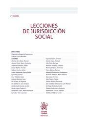 Lecciones de jurisdicción social / directores, Gabriel García Becedas, Magdalena Nogueira Guastavino Valencia : Tirant lo Blanch, 2016