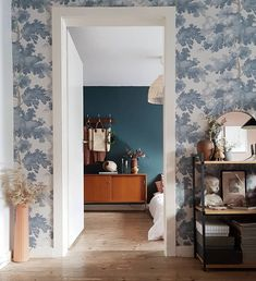 Livingroom | Wallpaper Raphael | Sandberg Wallpaper