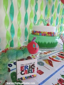 Learn with Play at Home: Very Hungry Caterpillar Cake